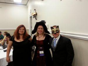 Me with Ilona and Gordon Andrews