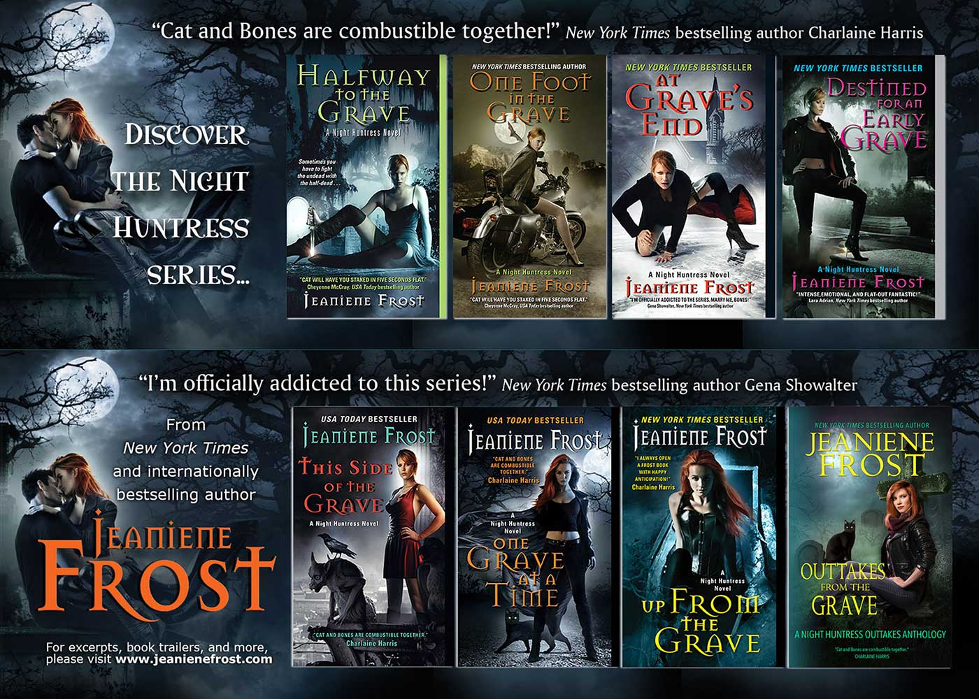 Jeaniene Frost – New York Times and USA Today Bestselling Author